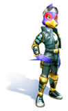 Brawl Sticker Falco (Star Fox Adventures)