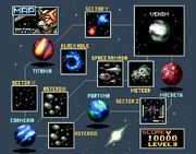 00 Star Fox Lylat Map