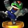 Trofeo de Slippy Toad SSB4 (3DS)