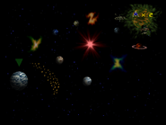 02 Star Fox 64 Lylat Map