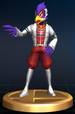 Falco (Command) - Brawl Trophy