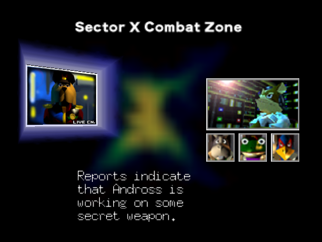 Archivo:SF64 SectorX Intro.png