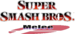 Super Smash Bros Melee logo