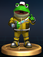 Slippy Toad - Brawl Trophy