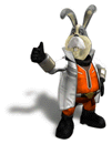 Brawl Sticker Peppy (Star Fox Assault)