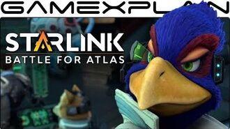 Starlink + Star Fox - Opening Cutscene (Peppy, Falco, & Slippy!)