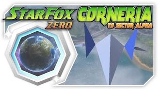 Star Fox Zero - Corneria To Sector Alpha With Retro Arwing! Wii U Gameplay Walkthough With GamePad