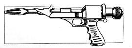 Star Frontiers Alpha Dawn Laser Pistol