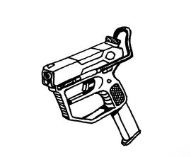 Star Frontiers Automatic Pistol