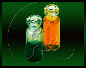 Poison vials by Sings-With-Spirits
