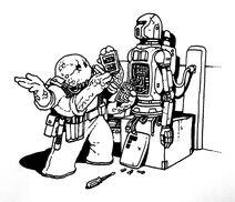 Dralasite Roboticist