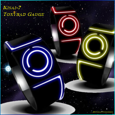 Toxyrad Gauge Kisai-7 by Sings-With-Spirits