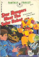 Star Rangers Meet the Solar Robot