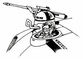 Vehicle mounted laser