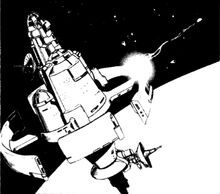 Armed Space Station