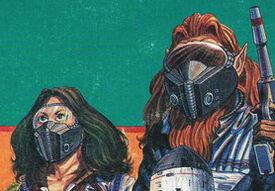 Gas-filter masks