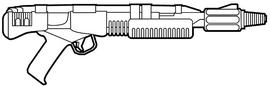 Sonic disruptor, aka stun rifle