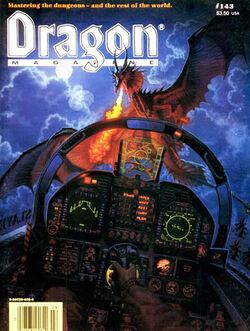 Dragon Magazine -143 Cover