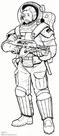 Armored pressure suit
