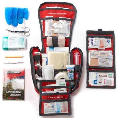 Lower-tech first-aid pack