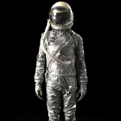 Early model spacesuit