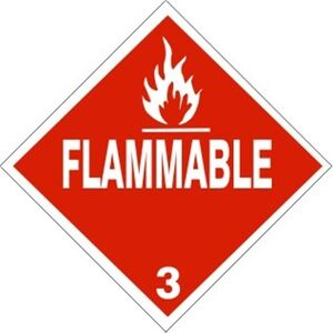 Flammable Placard 01