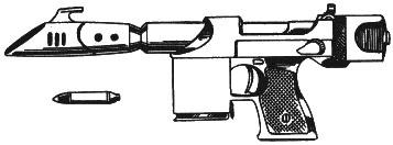 00-Gyrojet Pistol