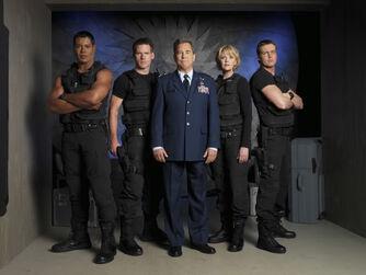 Cast nona stagione SG1