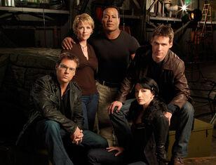 SG1 cast decima stagione