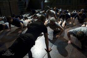 Salle d'entraînement du Destinée