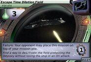 Escape Time Dilation Field