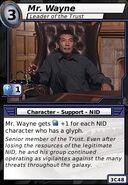 Mr Wayne (Leader of the Trust)