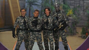 Cast of Wormhol extreme in Stargate