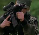 Micro 16 assault rifle