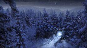Planète hivernale