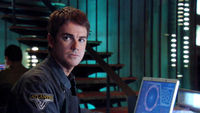 Chuck dialing Earth from Atlantis (the only one SG-1 ep. with his appearance)
