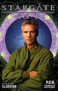 SG-1 POW Issue1 Jack photocover