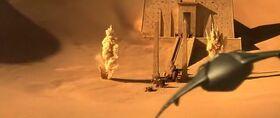 Stargate - Planeur de la mort attaque l'équipe