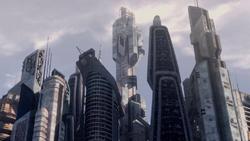 Atlantis control tower