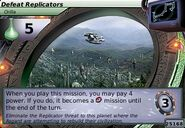 Defeat Replicators