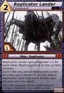 Replicator Lander (Vanguard)