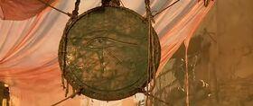 Stargate - bronze de l'oeil de Ra