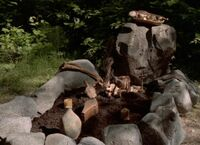 Kendra's grave