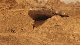 Chasseur abandonné des aliens myrtille