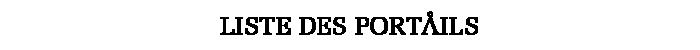 Header Portails
