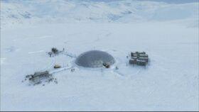 Avant-poste de l'Antarctique