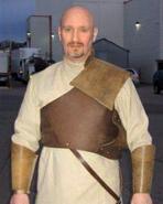 Hal in Atlantis Ancient security uniform (BTS)