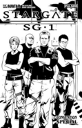SG-1 conventionspecial2005 LeatherCover