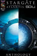 Stargate Atlantis Stargate Universe Anthology 1 SGASGU photo cover