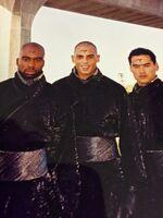 Three Anubis' Ninja Jaffas BTS